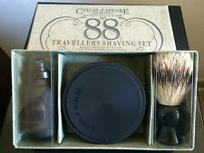 CZECH & SPEAKE N°88 TRAVELLING SHAVING SET RASATURA  VIAGGIO AFTERSHAVE PENNELLO
