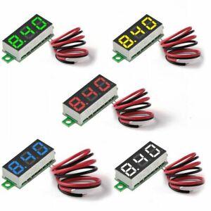 5Pcs-Mini-NumeRique-DC-VoltmeTre-0-28-Pouce-Deux-Fils-2-5V-30V-Mini-NumeRiq-Q5B9