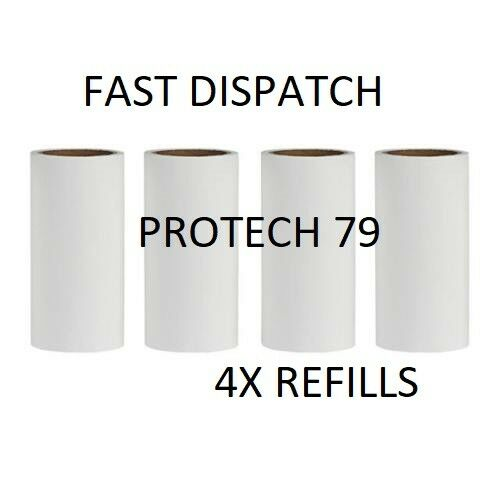 4x IKEA BÄSTIS Peelable Sticky REFILL ROLLS for Bastis Lint Clothes Roller