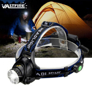6000Lm-XM-L-T6-LED-Headlamp-Flashlight-Zoomable-Camping-Torch-2x18650-AC-Car-CH