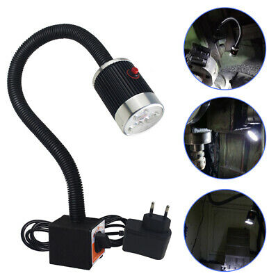 6W CNC Machine Lamp Magnetic Base LED Work Lamp Flexible Light 660 LM