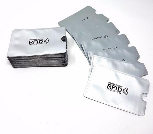 RFID Bank Card Blocking Contactless Debit Credit Protector Sleeve Wallet Holder