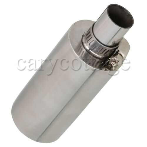 Stainless Steel Muffler Silencer for 23CC-35CC Gasoline Engine Accelerating Tube