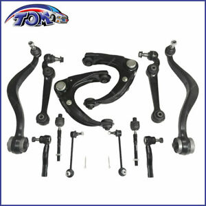 New-12pcs-Front-Upper-Lower-Control-Arm-Ball-Joint-Sway-Link-For-03-07-Mazda-6