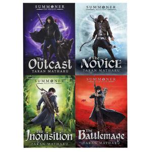 Summoner-Series-Taran-Matharu-4-Books-Collection-Set-Outcast-Novice-Battlemage