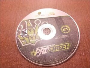 Microsoft Xbox 360 Disc Only Tested Need for Speed Prostreet Ships Fast