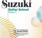 Suzuki Guitar School, Vol 3 by Suzuki Method International (CD-Audio, 2000)