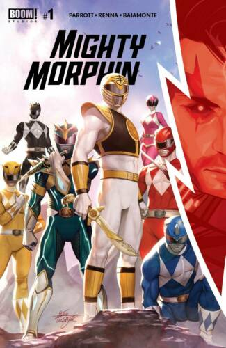 Mighty Morphin #1-3Select A B C 1:10 1:25 LCSD CoversBoom Studios NM 2020