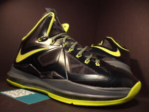 new arrival 4ad7a b8e35 2012 Nike Air Max LEBRON X 10 DUNKMAN SEAWEED ATOMIC GREEN HASTA ...