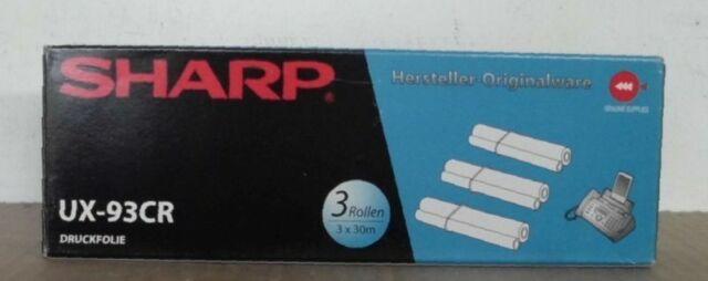 Sharp UX-93CR Transfer Rollen f. UX P110 P120 P400 P410 P430 A450 A460 A470 OVP