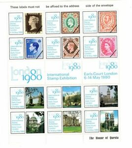Utile Cinderellas - 1980 International Stamp Fair-feuille-afficher Le Titre D'origine AgréAble à GoûTer