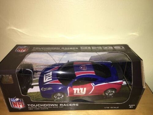 NEW ITEM-2019 NEW YORK GIANTS REMOTE CONTROLLED RACE CAR 1:18 SCALE//DGL