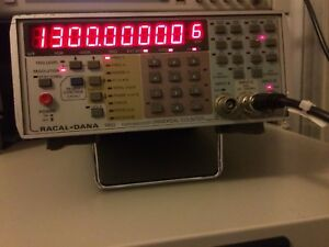 RACAL-DANA-1992-Frequency-Counter-1-3-GHz-with-Calibration-Certificate-if-needed