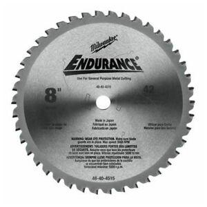 Milwaukee 48404515 8 cutting saw blade ebay milwaukee 48404515 8 cutting saw blade greentooth Choice Image