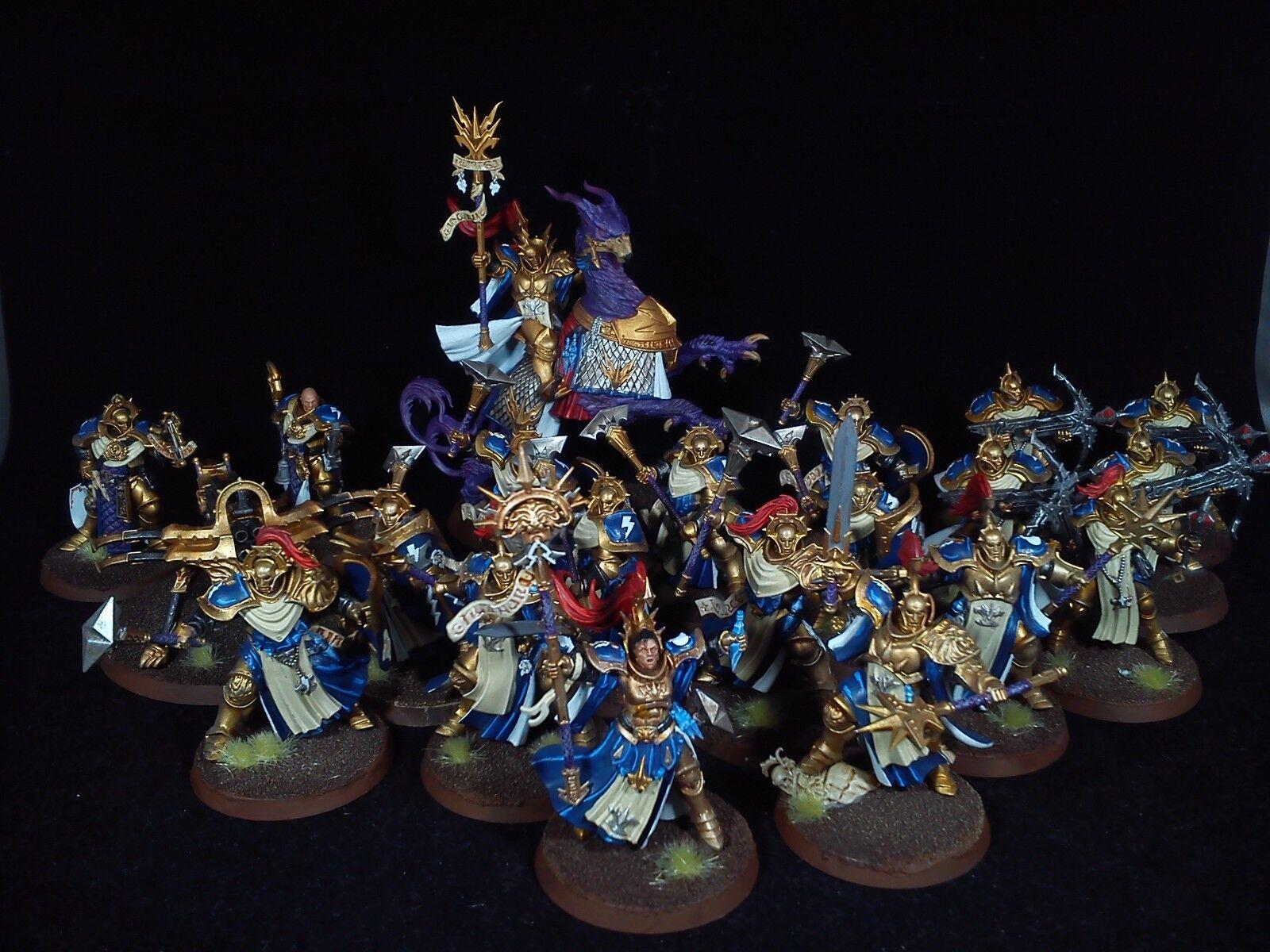 Stormcast eterno Ejército Soul guerras Warhammer edad de Sigmar Pintado