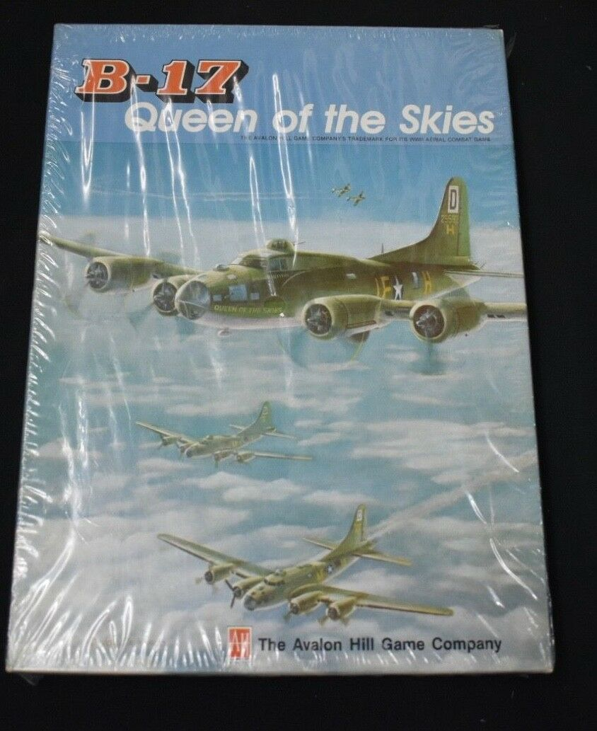 B17 Queen of The Sky Board Game