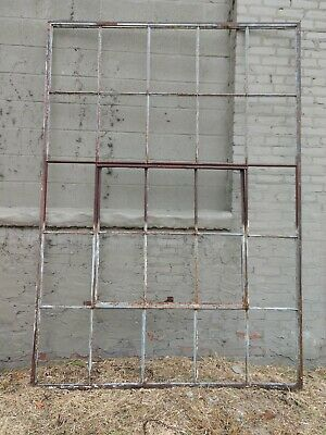 Reclaimed Vintage Industrial Factory Steel Casement Windows   type #1