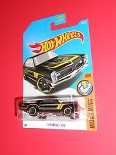 HOT WHEELS '67 PONTIAC GTO 69/365 MUSCLE MANIA SHIPS FREE