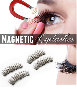 New-4-Pairs-Magnetic-Eyelashes-Reusable-Triple-Magnet-False-Eye-Lashes-Extension