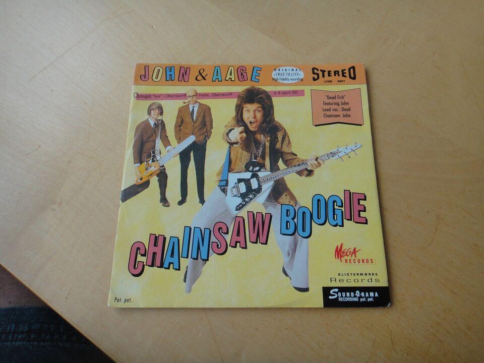 Single, John & Aage , Chainsaw Boogie