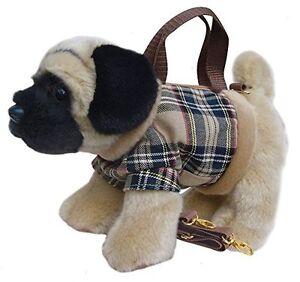 Bag/Handbag/Shoulder Bag ~ PUG ~ Material/Plush ~ Novelty