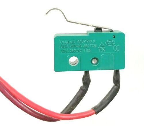 Original Shark Part AX950 AX951 AX952 AZ1002 Vacuum MAC-1210 Green Switch /& wire