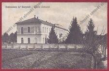 PAVIA SANNAZZARO DE' BURGONDI 11 SCUOLE COMUNALI Cartolina viaggiata 1918