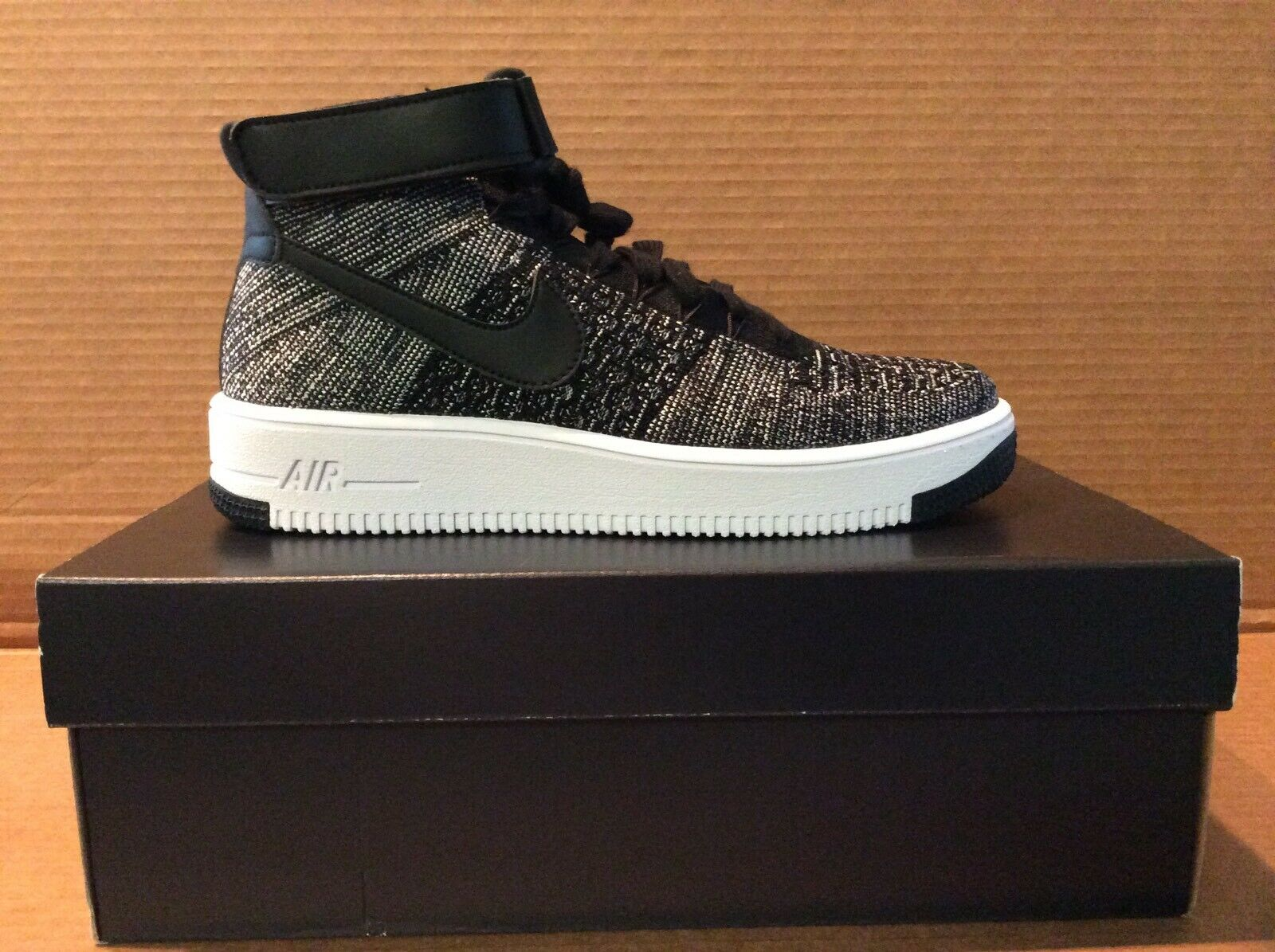 cf1a5d59ae Nike AF1 Flyknit Mid size 10.5 mens Ultra numbxm2288-new shoes ...