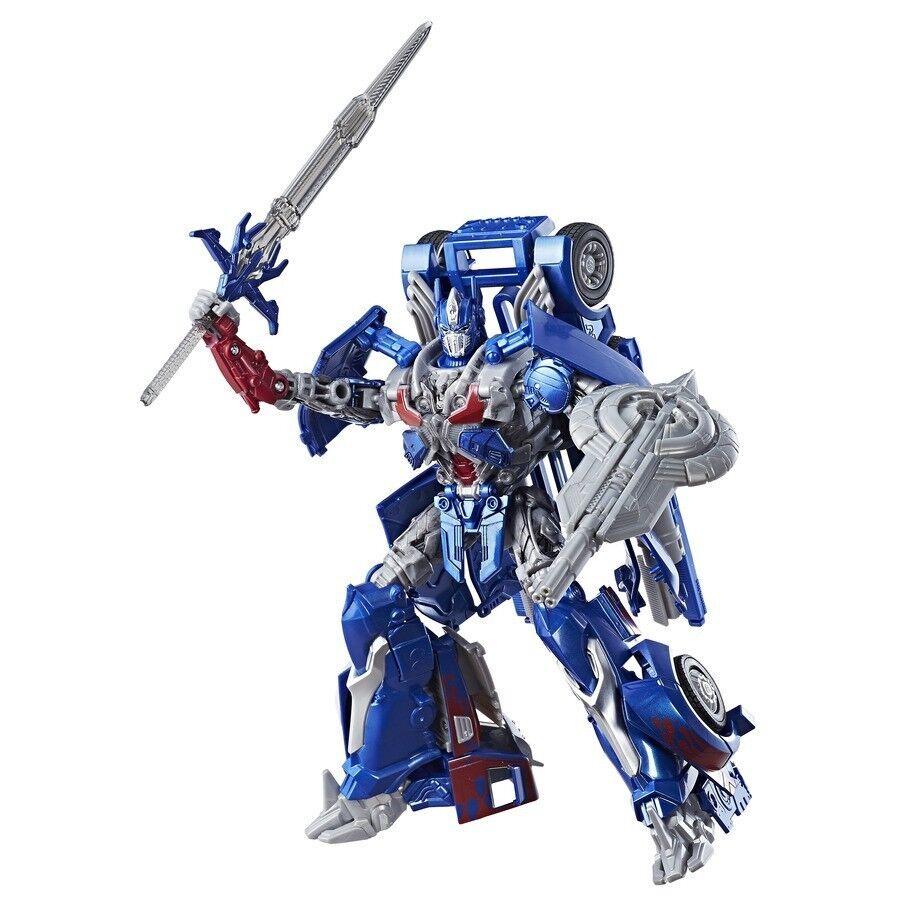 Transformers New  Premier Leader Optimus Prime  Last Knight Action Figure