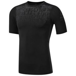 Details zu Reebok ACTIVCHILL Graphic Compression Herren T Shirt Sportshirt Fintessshirt
