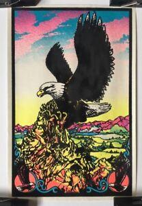 Eagle Original Vintage Blacklight Poster 1970's Pin-up ...