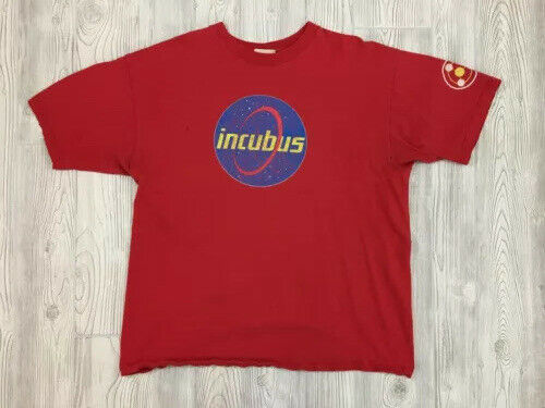 Vtg Incubus Make Yourself Era T-Shirt Size XL