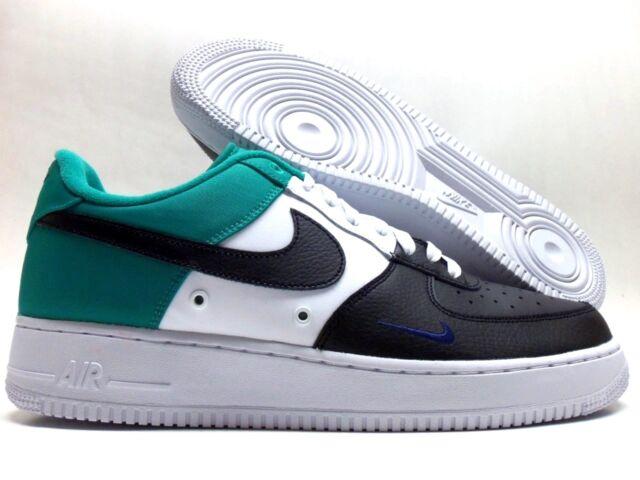 Size 12 - Nike Air Force 1 Low Mini Swoosh Neptune Green