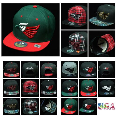 Baseball Cap Hecho Mexico Snapback Mexican Caps Fashion Hat Flat