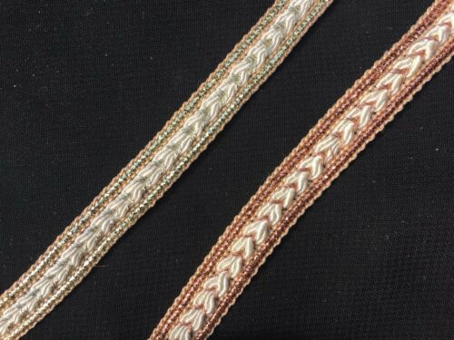 1Metre 12mm Braid Trim//Lace//Gimp Upholstery//Cushion//Indian