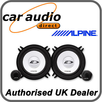 ALPINE Speakers; 13cm 2-Way Component Custom Fit 250w Max ALPINE SXE 1350S