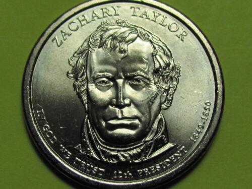 Zachary Taylor $1 Presidential Golden Dollar Coin 2009 D