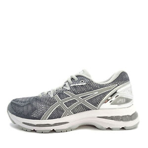 Details about Asics GEL-Nimbus 20 Platinum [T886N-9793] Women Running Shoes  Carbon/Silver