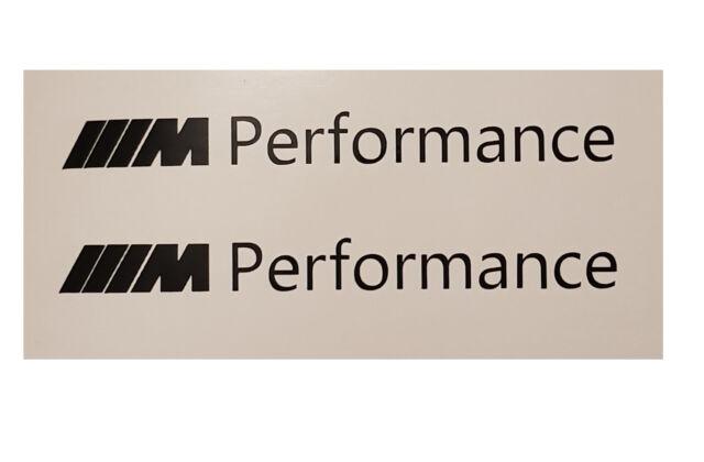 BMW 2x M Performance Aufkleber, Rückspiegel Motorsport Logo M2 M1 M3 M5 M6 13cm