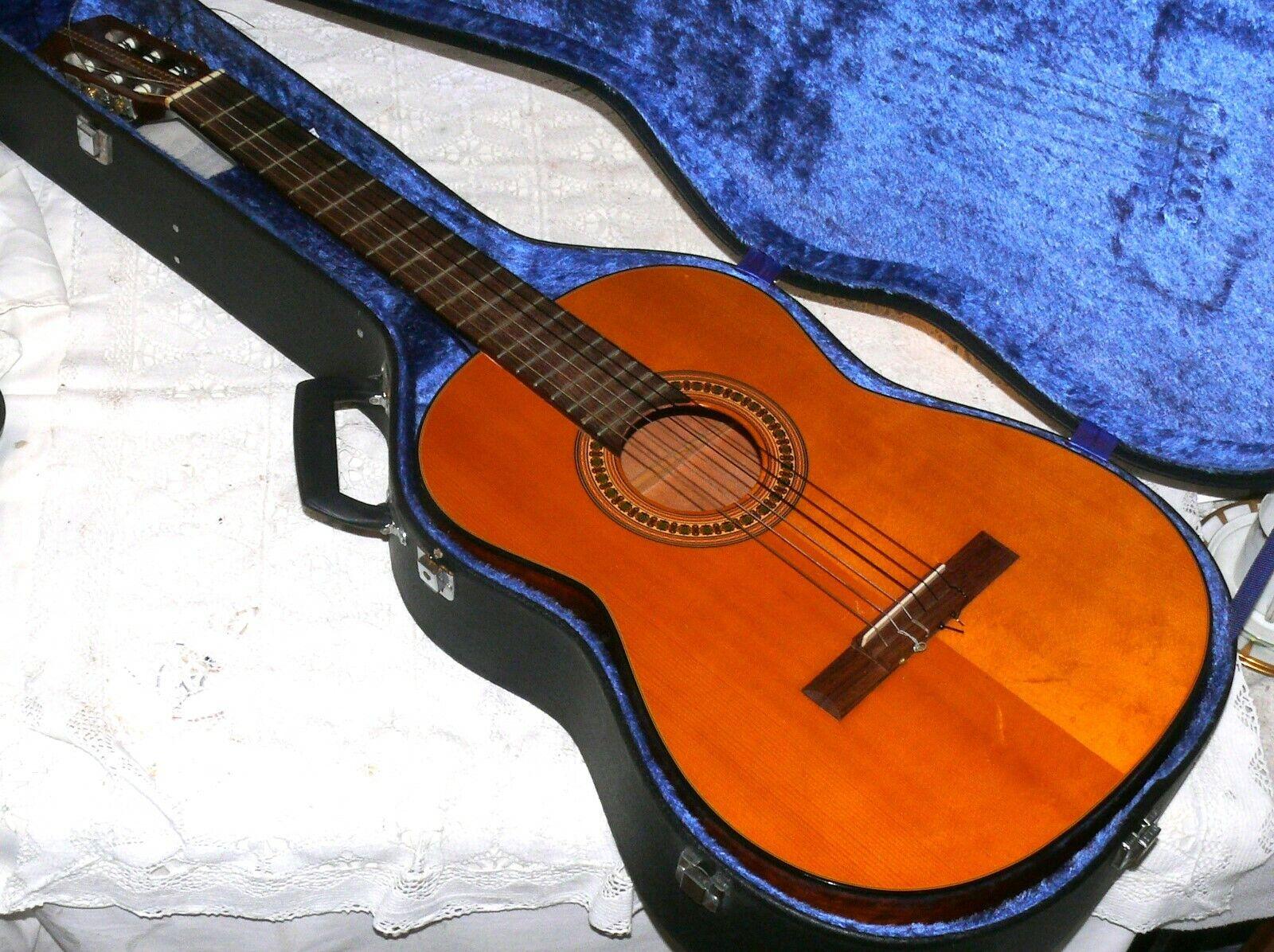 Otto Gläsel Vintage Klassik Akustik-Gitarre Meister Konzertgitarre Koffer 14512
