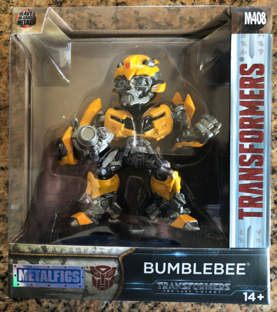 "Bumblebee Transformers Last Knight 4/"" Metal Figure Jada 99387"