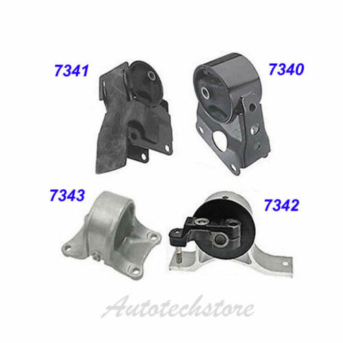 Engine Motor /& Trans Mount Set 4PCS 2002-2006 Nissan Altima 2.5L for Auto M029