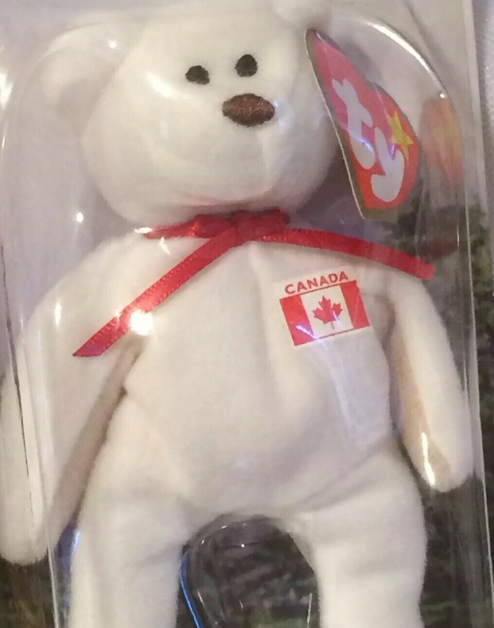 McDonalds Ty Beanie Babies Int'l Bears Maple(TanArms)Glory, Erin, Britannia RARE