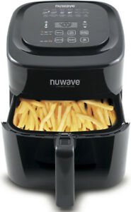 NuWave Brio Digital Air Fryer (6 qt, Black)