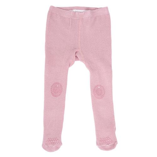 Baby Girls Plain Tights Cotton Soft Anti Slip Leg Warmers Pants 0-2 Y