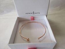 ASTRID & MIYU iniziale S Braccialetto Rosa Oro Placcato