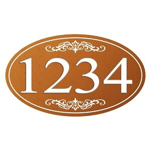 Personalized-House-Address-Sign-Plaque-Aluminum-Won-039-t-Fade-Peel-or-Chip-HP007