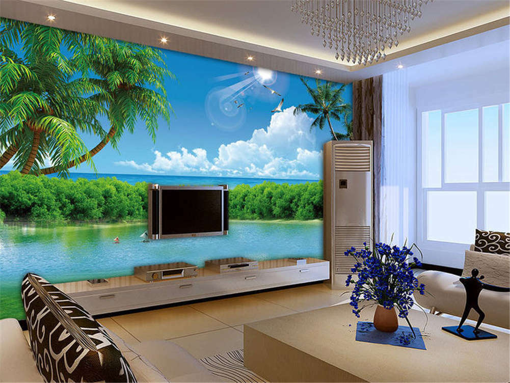 Orderly Firm Lake 3D Full Wall Mural Photo Wallpaper Printing Home Kids Decor