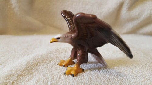 HAGEN RENAKER Eagle Figurine Miniature Collect Nice Gift New Free Shipping 03037