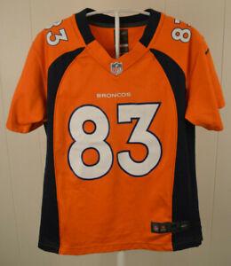 834af8a2 Details about Nike Denver Broncos Jersey #83 Wes Welker NFL Youth Kids  Medium (10-12) Orange